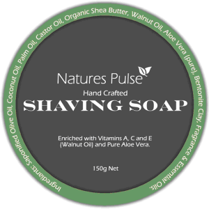 Graphic Design - Shaving soap label