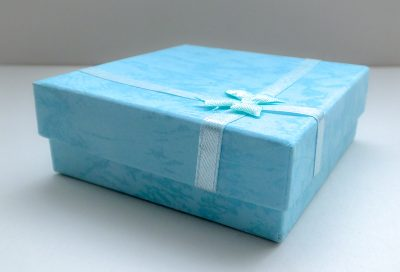 Light Blue Luxury Gift Boxes