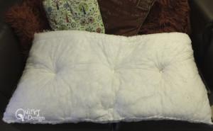 Duvet & Pillows Re-Purposed
