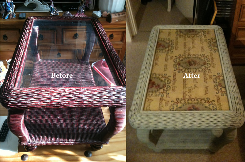 Chalk Paint Upcycling Project