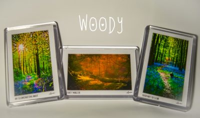 Group Woody Magnets