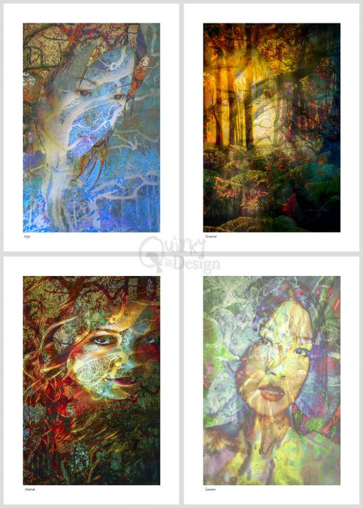Goddess Energy Photographic Prints Series 1