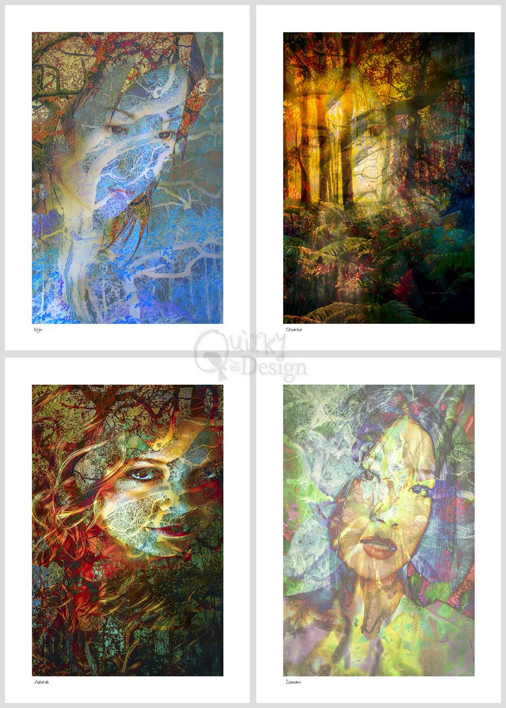 Goddess Energy Photographic Prints Series 1
