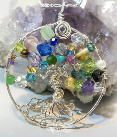 ss argentium tree of life pendant and necklace