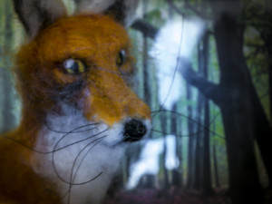 Needle felted Mr Fox