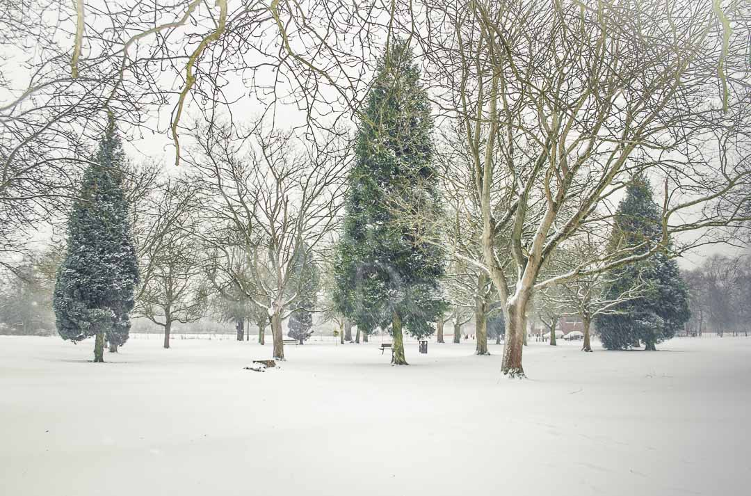 A WINTERY VIEW - Hemel Hempstead in Winter