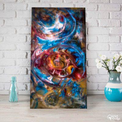 mystic swirls by Artist Loren Goldenberg-Kosbab