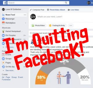 Why I am Quitting Facebook