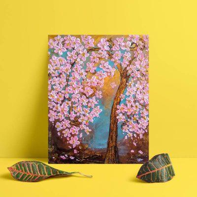 Cherry Blossom (201813) Wall