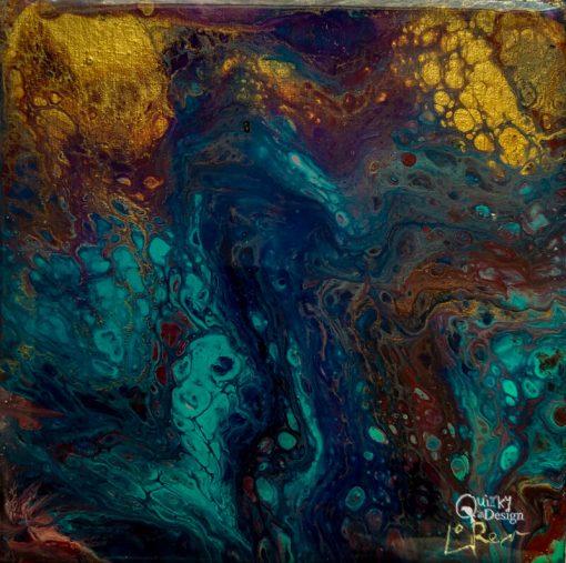 River Plume by Artist Loren Goldenberg-Kosbab